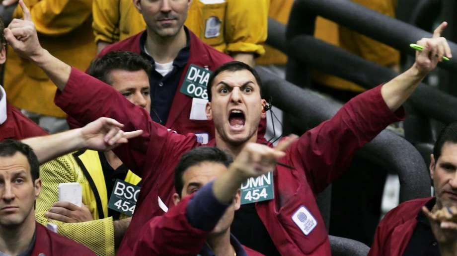 Futures Trading Pit CME.