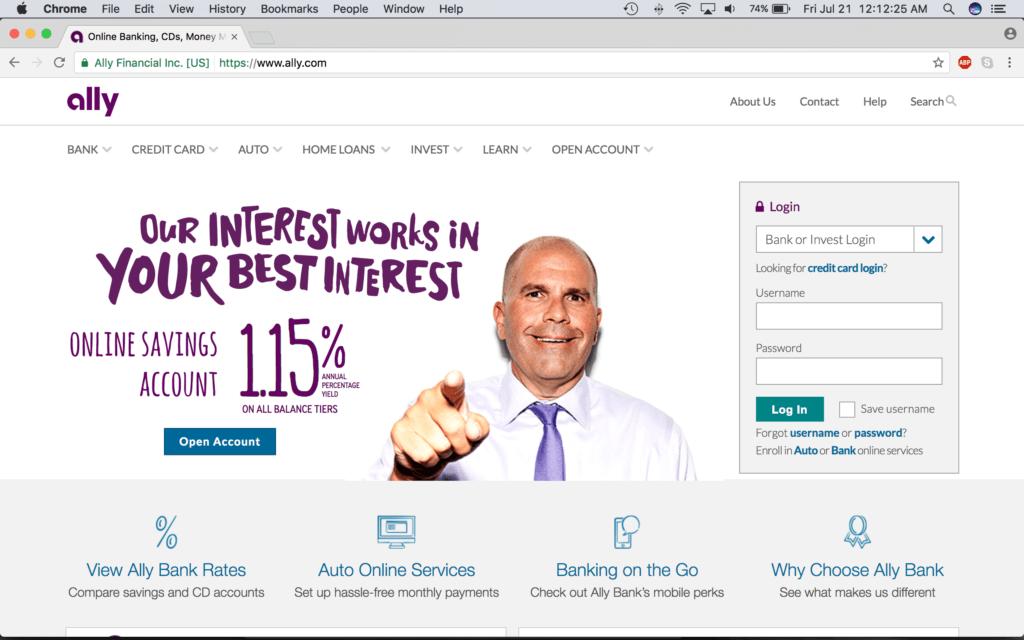 Ally invest forex login