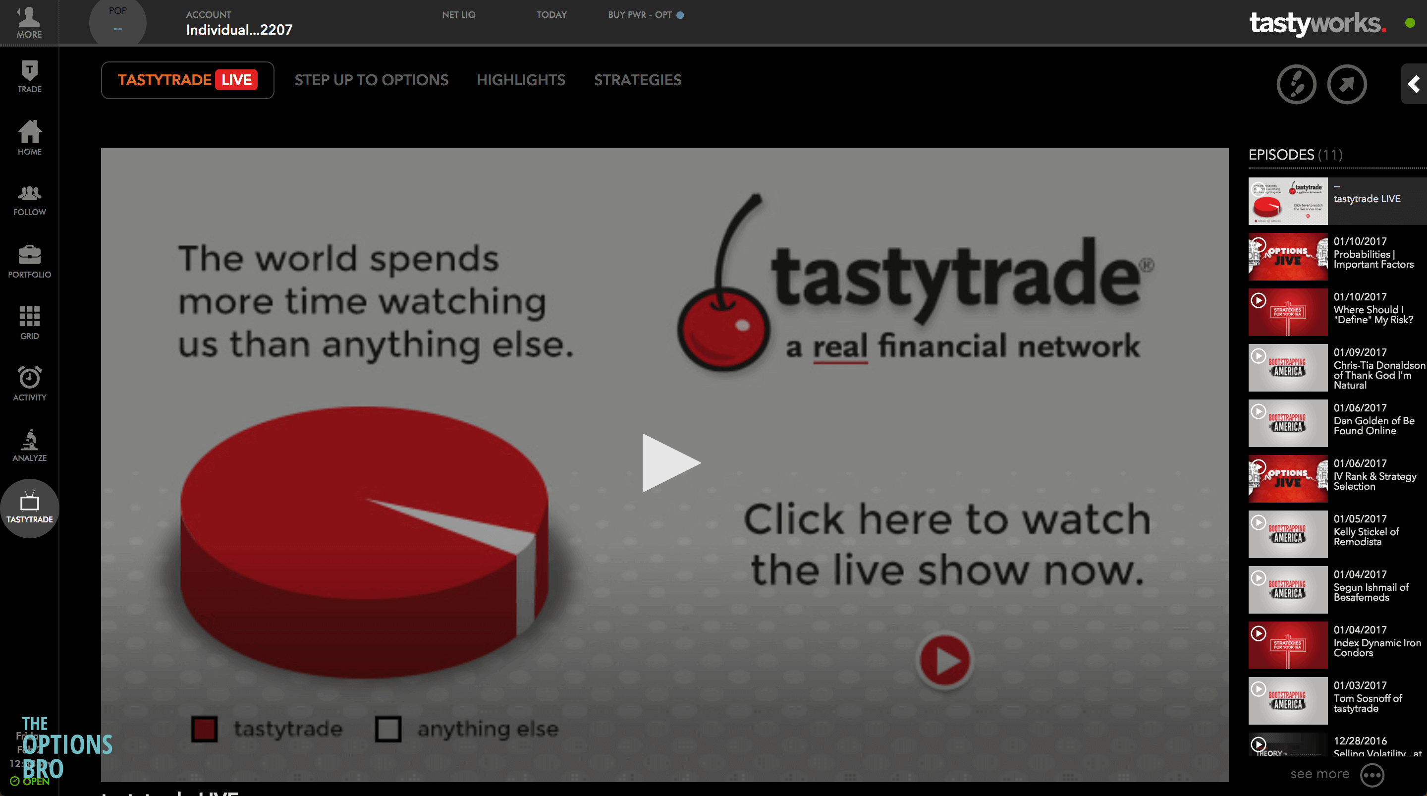 Tastyworks tastytrade media