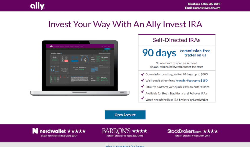 Ally Invest IRA Review