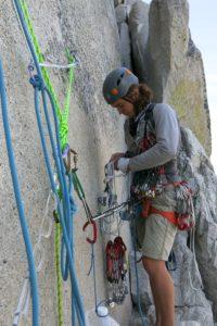 Kevin Ott Climbing Half Dome
